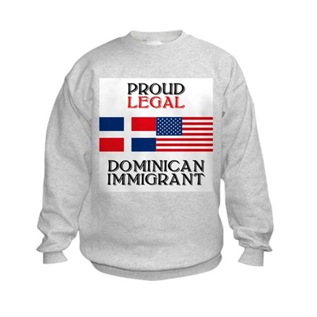 Dominican Immigrant Kids Sweatshirt