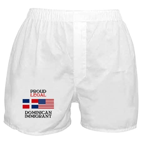 Dominican Immigrant Boxer Shorts
