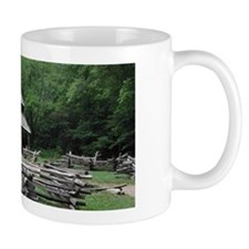Cades Cove Log Cabin Mug