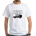 Funeral Director/Mortician White T-Shirt