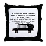 Funeral Director/Mortician Throw Pillow