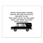Funeral Director/Mortician Small Poster