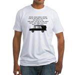 Funeral Director/Mortician Fitted T-Shirt