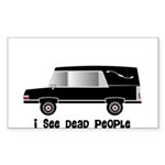 Funeral Director/Mortician Sticker (Rectangle 10 p