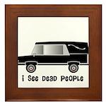 Funeral Director/Mortician Framed Tile