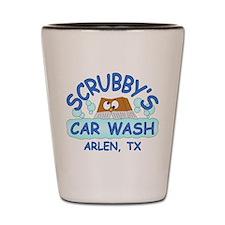 Scrubbys Car Wash Shot Glass