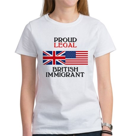 British Immigrant Women's T-Shirt