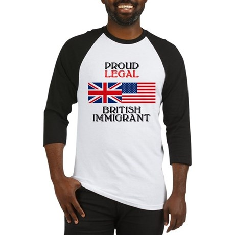 British Immigrant Baseball Jersey