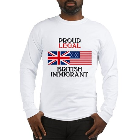 British Immigrant Long Sleeve T-Shirt