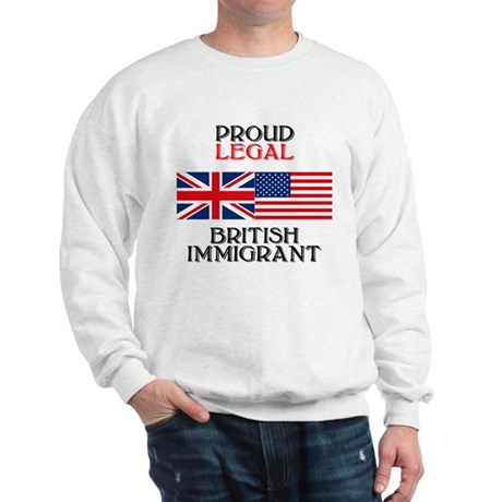 British Immigrant Sweatshirt
