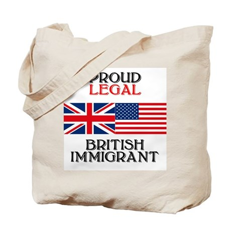 British Immigrant Tote Bag