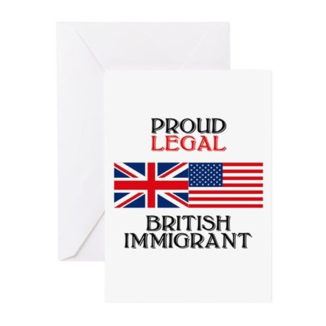 British Immigrant Greeting Cards (Pk of 10)
