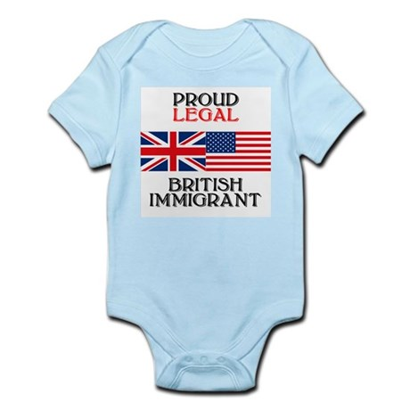British Immigrant Infant Creeper