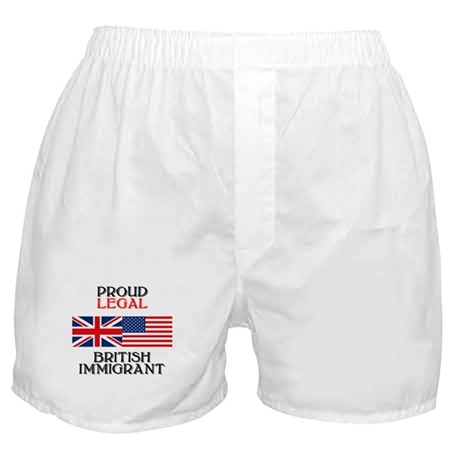 British Immigrant Boxer Shorts
