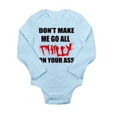 All Philly Long Sleeve Infant Bodysuit