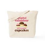 Funny Hospital Volunteer Tote Bag