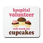 Funny Hospital Volunteer Mousepad