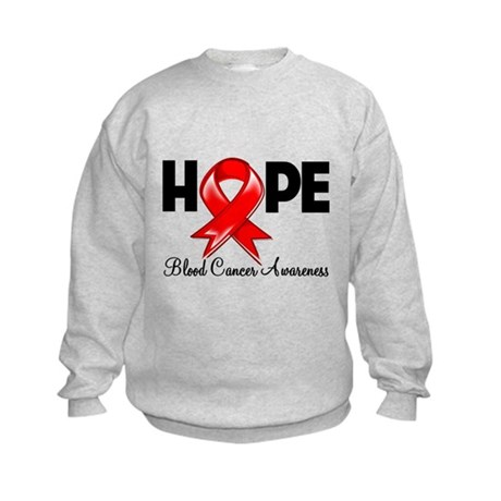 Hope Blood Cancer Kids Sweatshirt