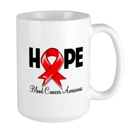 Hope Blood Cancer Large Mug