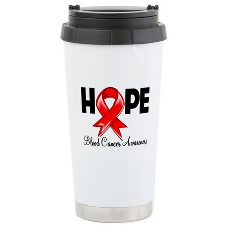 Hope Blood Cancer Ceramic Travel Mug