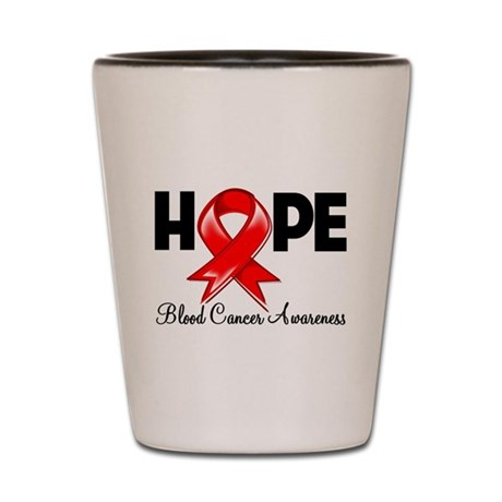 Hope Blood Cancer Shot Glass