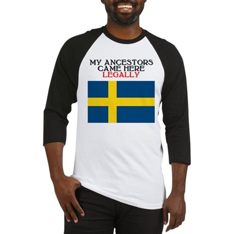 Swedish Heritage Baseball Jersey