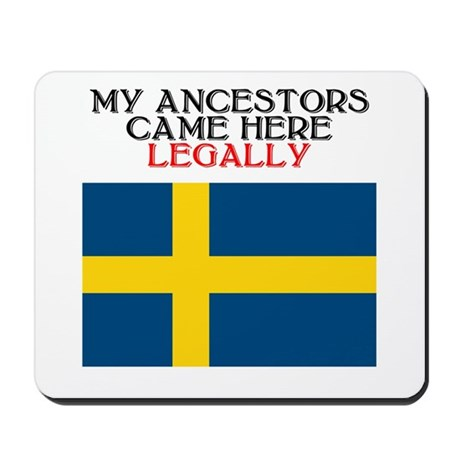 Swedish Heritage Mousepad