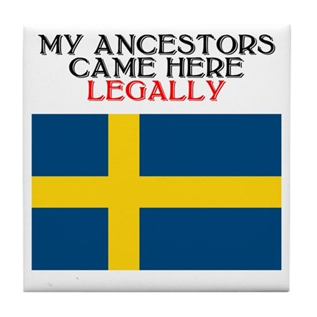 Swedish Heritage Tile Coaster