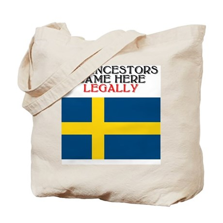Swedish Heritage Tote Bag