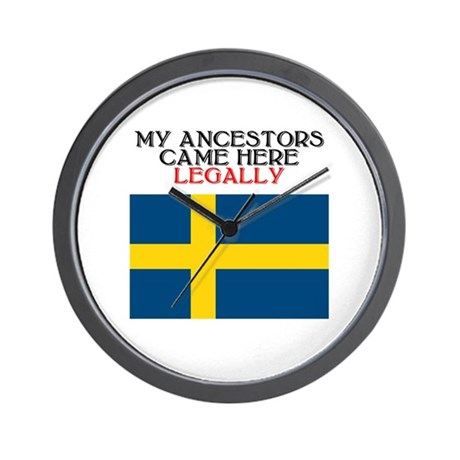 Swedish Heritage Wall Clock