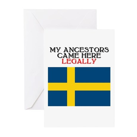 Swedish Heritage Greeting Cards (Pk of 10)