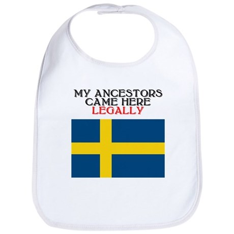 Swedish Heritage Bib