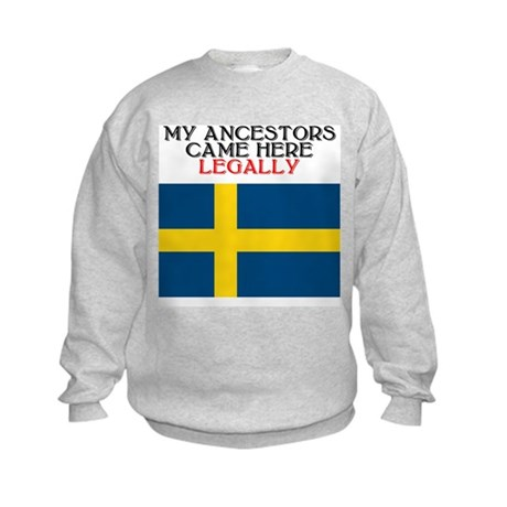Swedish Heritage Kids Sweatshirt