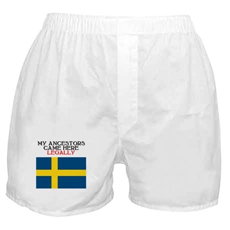 Swedish Heritage Boxer Shorts