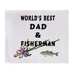 World's Best Dad Throw Blanket