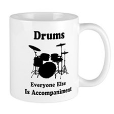 Drummer Gift Small Mugs