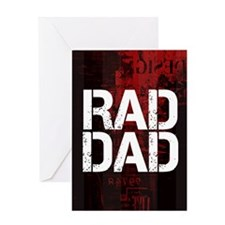 Rad Dad Greeting Card