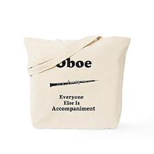 Oboe Music Joke Tote Bag
