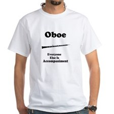 Oboe Music Joke White T-Shirt