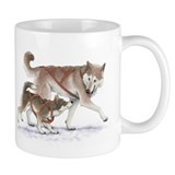 Cute Husky puppy Small Mug