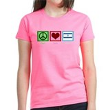 Peace Love Israel Tee