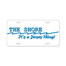 NJ The Jersey Shore Aluminum License Plate