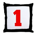 NUMBER 1: WE'VE GOT YOUR NUMB Throw Pillow