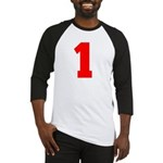 NUMBER 1: WE'VE GOT YOUR NUMB Baseball Jersey