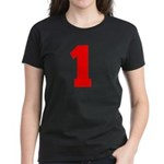 NUMBER 1: WE'VE GOT YOUR NUMB Women's Dark T-Shirt
