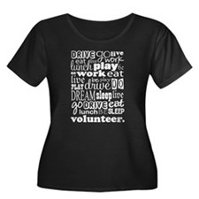 Volunteer Life Quote Funny T