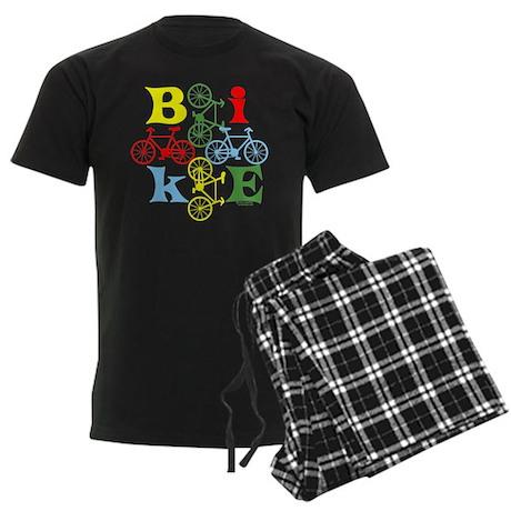 Four Bikes Men's Dark Pajamas
