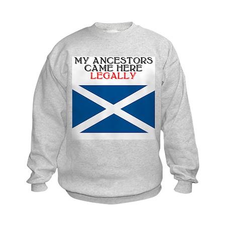 Scottish Heritage Kids Sweatshirt