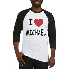 i heart michael Baseball Jersey