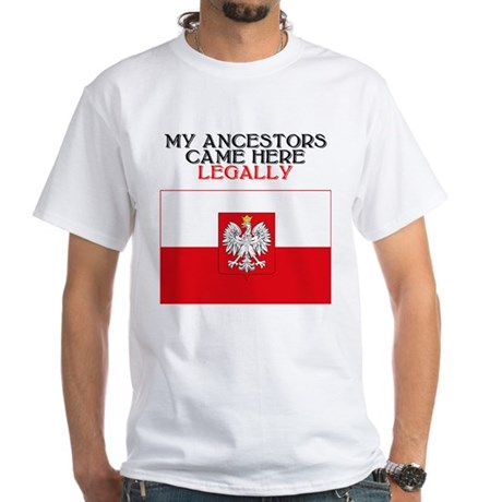Polish Heritage White T-Shirt